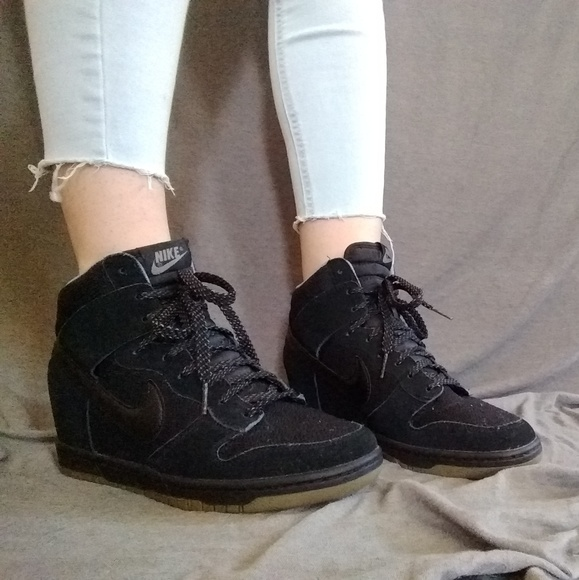 Nike Shoes | Nike Dunk Sky High Black